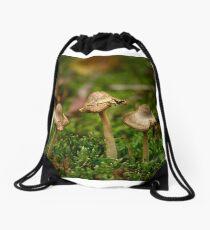 Miniature fungi Drawstring Bag