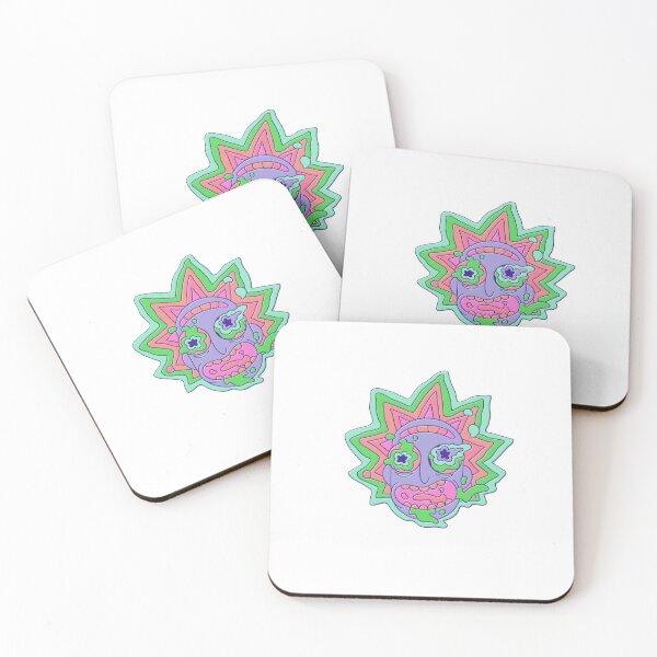 Rick and Morty - Rick Coasters (Set of 4)