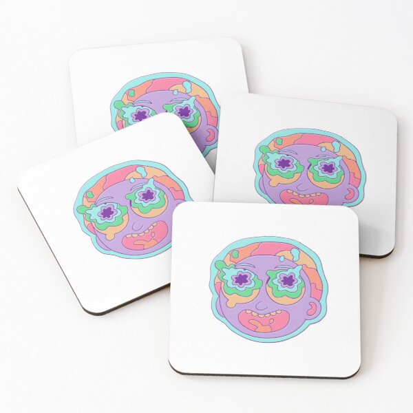 Rick and Morty - Morty Coasters (Set of 4)