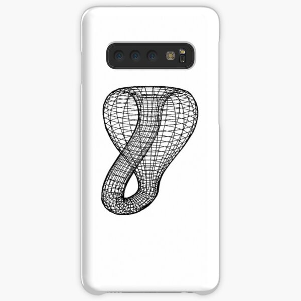 A two-dimensional representation of the Klein bottle immersed in three-dimensional space, #TwoDimensional, #representation, #KleinBottle, #immersed, #ThreeDimensional, #space Samsung Galaxy Snap Case
