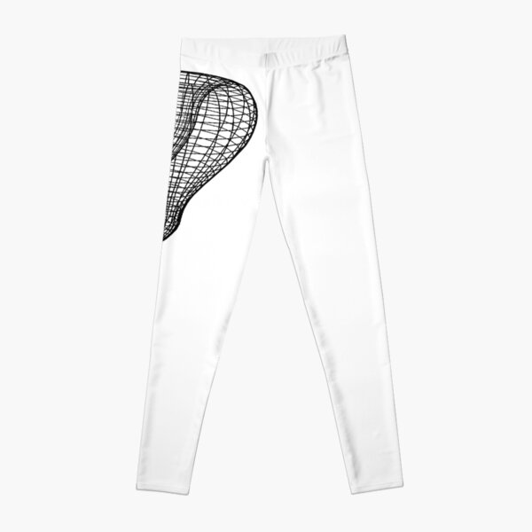 A two-dimensional representation of the Klein bottle immersed in three-dimensional space, #TwoDimensional, #representation, #KleinBottle, #immersed, #ThreeDimensional, #space Leggings