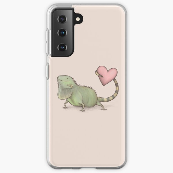 Iguana Love You Samsung Galaxy Soft Case