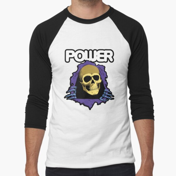 POWER - Skate Masters of the Universe Baseball ¾ Sleeve T-Shirt