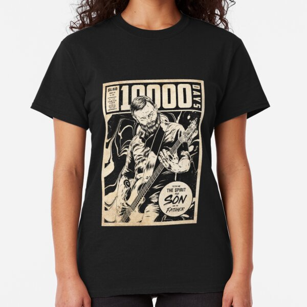 Tool 10,000 Days Vintage Style Comic Cover Classic T-Shirt