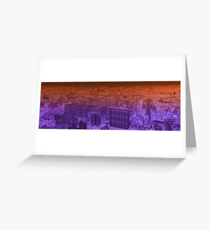 infinite metropolis 004 Greeting Card