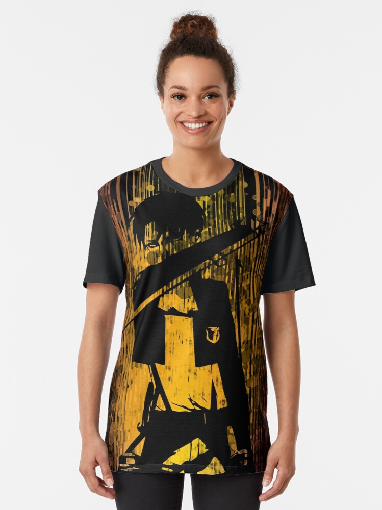 Alternate view of livai dark side Graphic T-Shirt