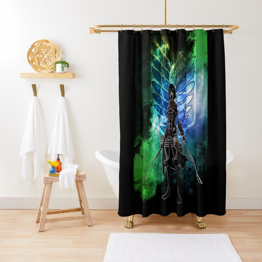 Azumabito Awakening Shower Curtain