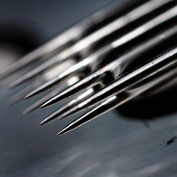 9 Needles by tattooedtheory