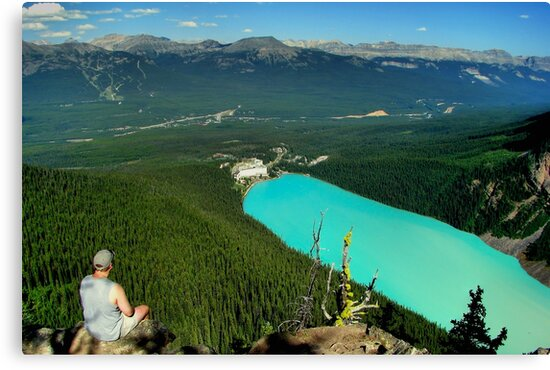 Turquoise Jewel - Lake Louise by James Anderson