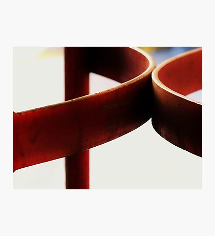 Hard Red, Soft Red Photographic Print