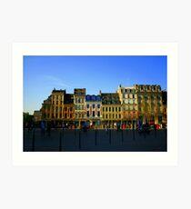 Lille, France Art Print