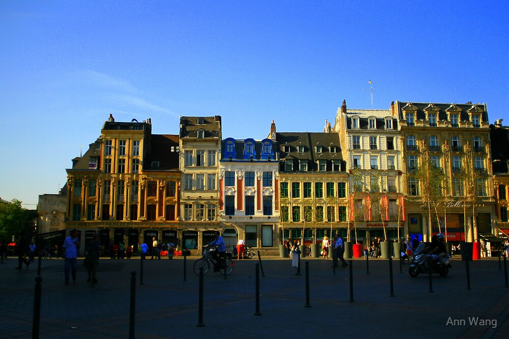 Lille, France by Ann Wang