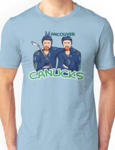 Canucks Sedins T-shirt T-Shirt