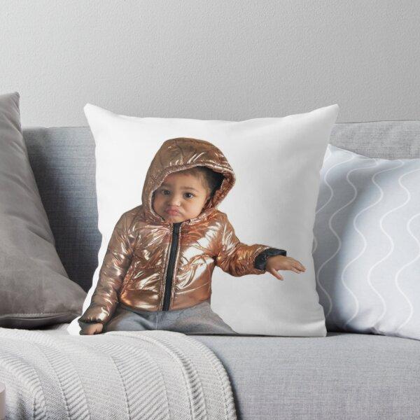stormi webster Throw Pillow