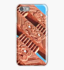 Maori Carvings iPhone Case/Skin
