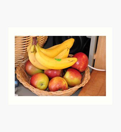 fruit & home - stillife Art Print