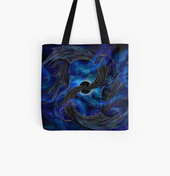 Panta Rhei Allover-Print Tote Bag