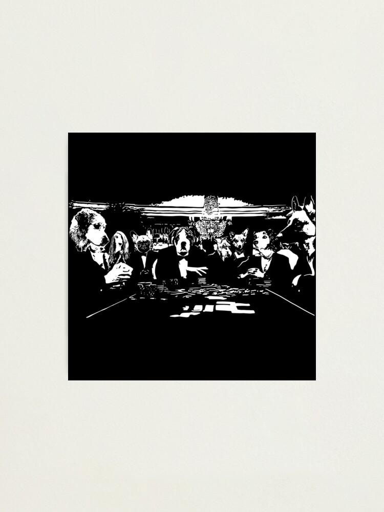 Alternate view of Casino Bond Dogs  Photographic Print