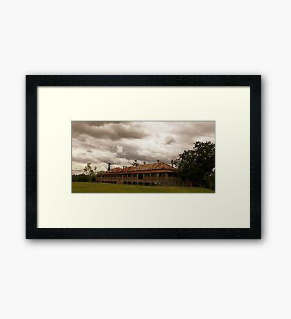 The Asylum Framed Print