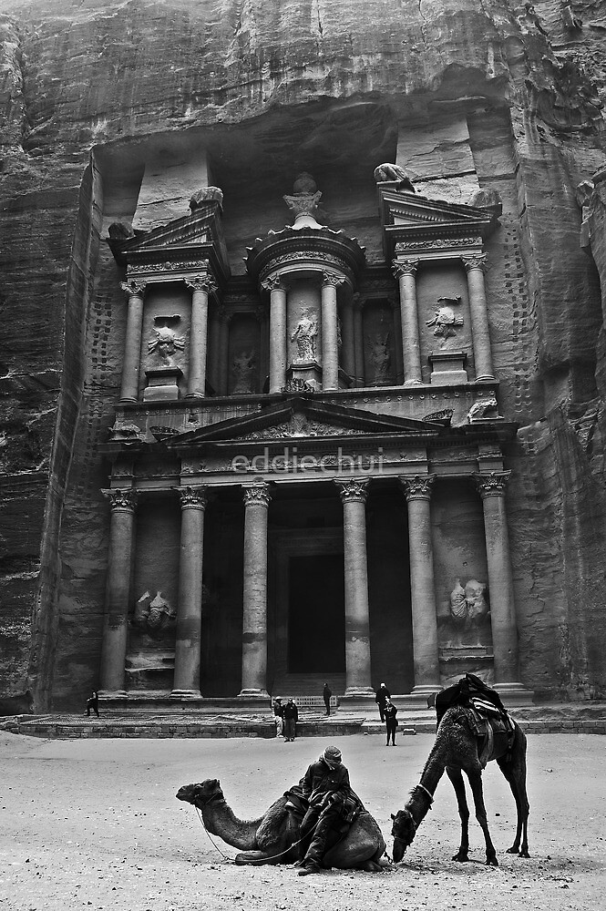 The Treasury, Petra by eddiechui