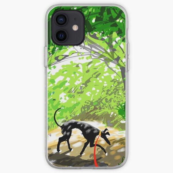 Woodland Shade Hound iPhone Soft Case