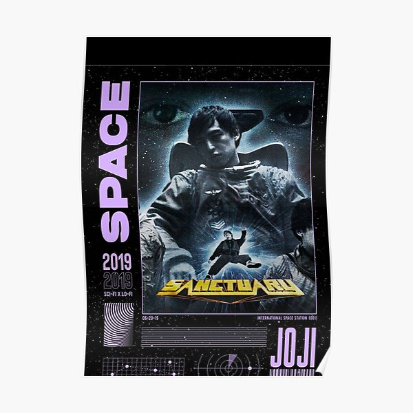 JOJI ™ Sanctuary Space Graphic Poster