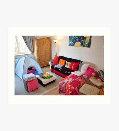 cozy livingroom... Art Print