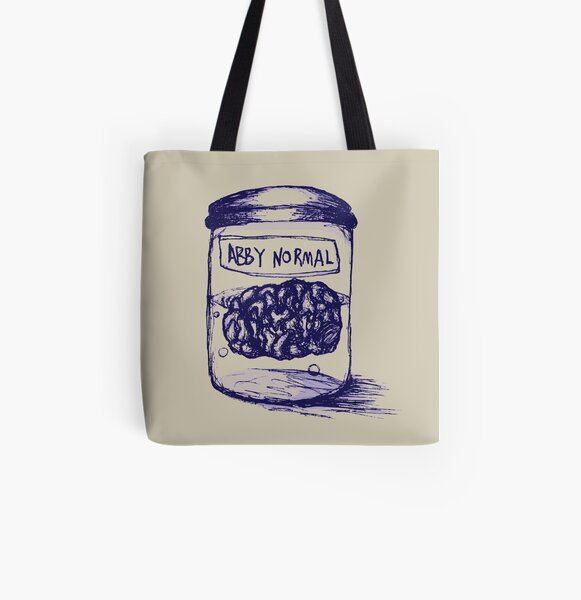 Abby Normal All Over Print Tote Bag