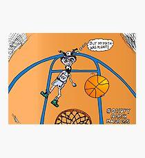 OccupyMarchMadness basketball cartoon Photographic Print