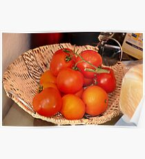 orange & tomato Poster