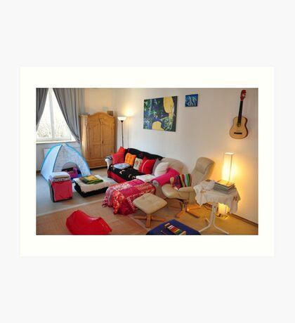 livingroom 2 - the home series :)) Art Print