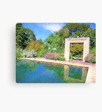 """Dallas Arboretum"" Archway Canvas Print"