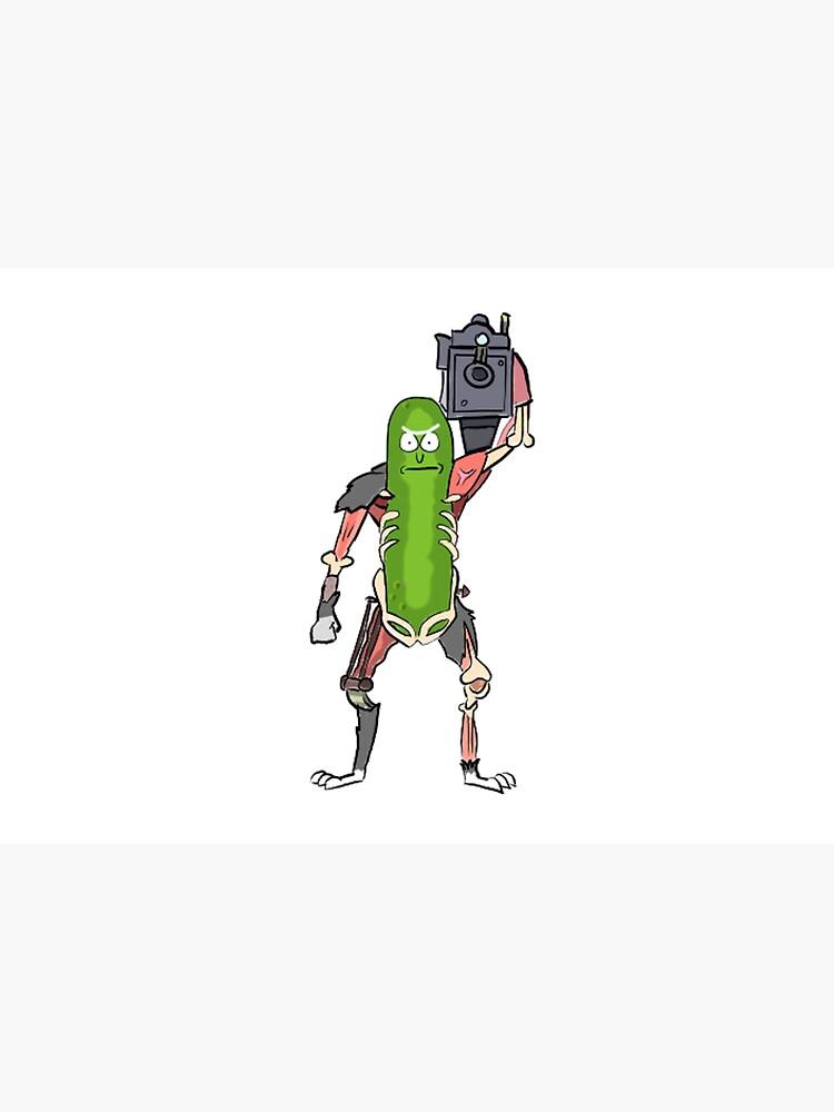 Pickle Rick by MrTomCherry