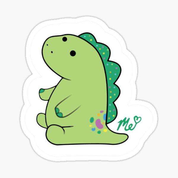 Moriah Elizabeth Pickle the Dinosaur Sticker