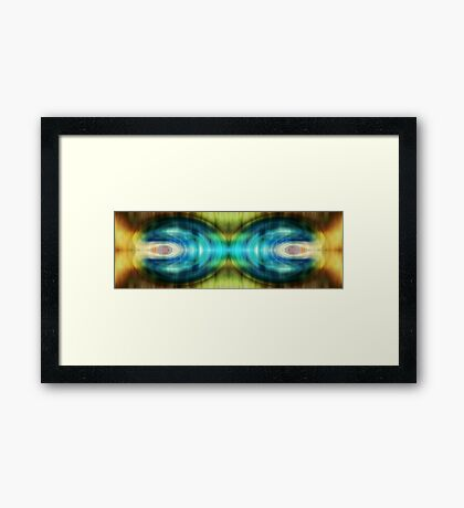 Different angles Framed Print