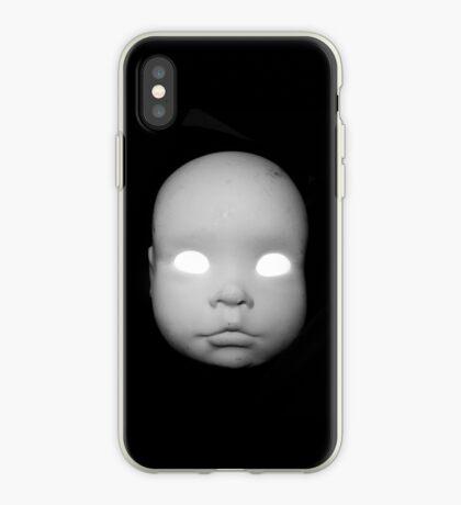 Creepy Doll Head iphone iPhone Case