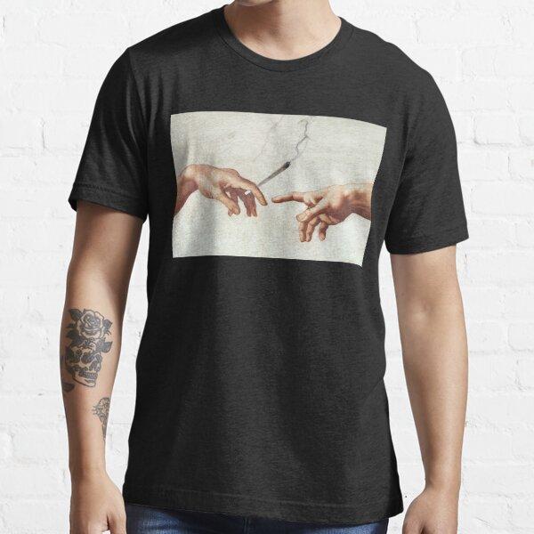Adán y el dios Camiseta esencial