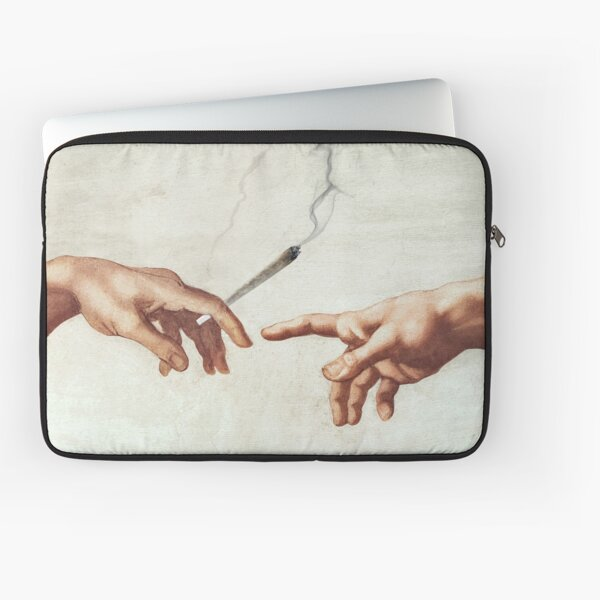 Adam and The God Laptop Sleeve