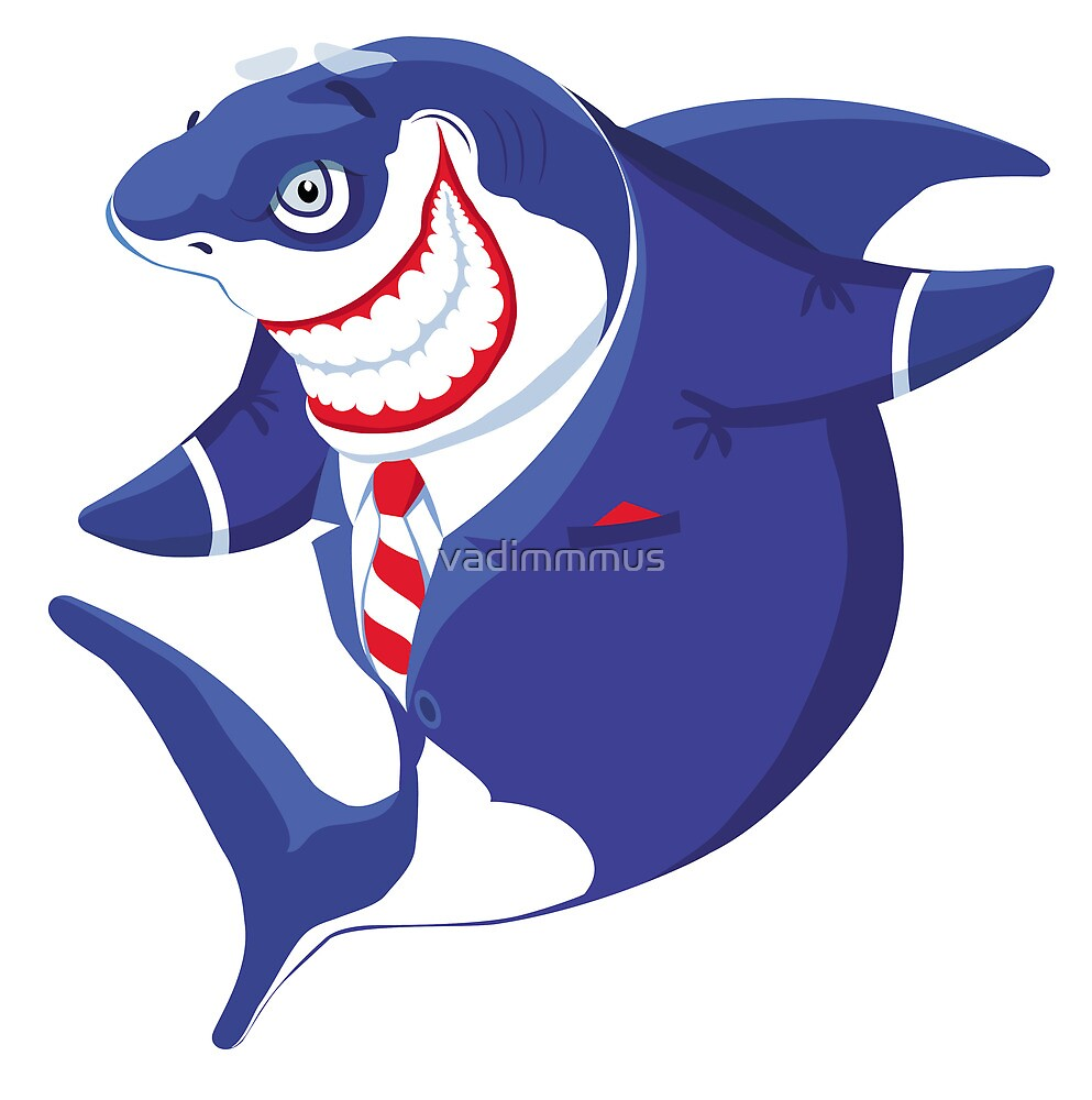 Shark of business by vadimmmus