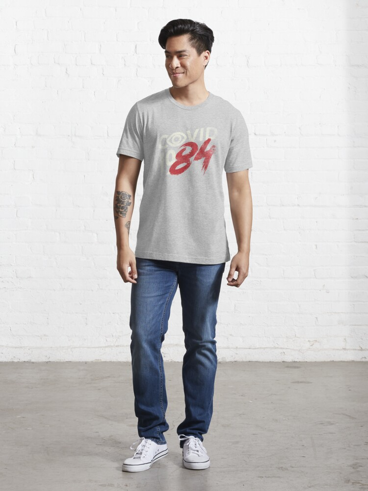 Alternate view of COVID-19...84 WHITE Essential T-Shirt