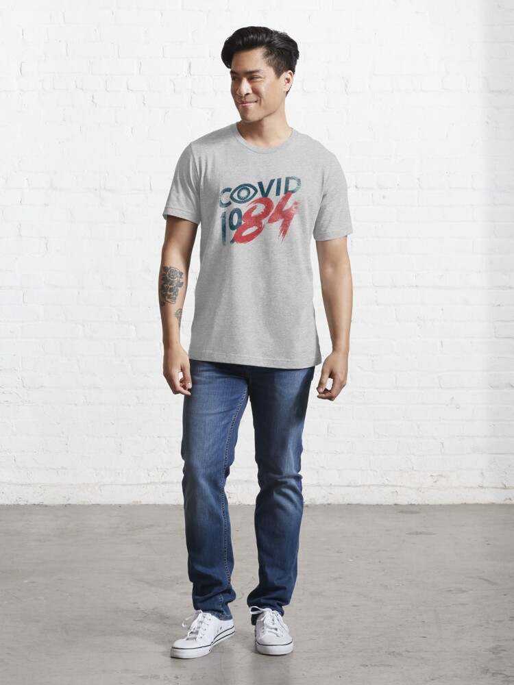 Alternate view of COVID-19...84 BLUE Essential T-Shirt