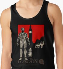 Visit London, Most Invaded City in the Whoniverse! Tank Top