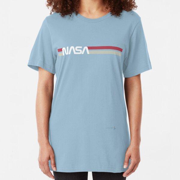 NASA Worm     #TheWormIsBack Slim Fit T-Shirt