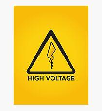High Voltage Photographic Print