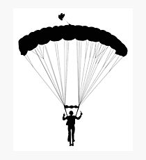 Skydiving   Photographic Print