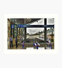 Chile - Estacion Central Art Print