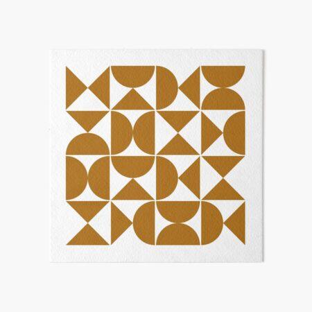 Mid Century Modern IV Art Board Print