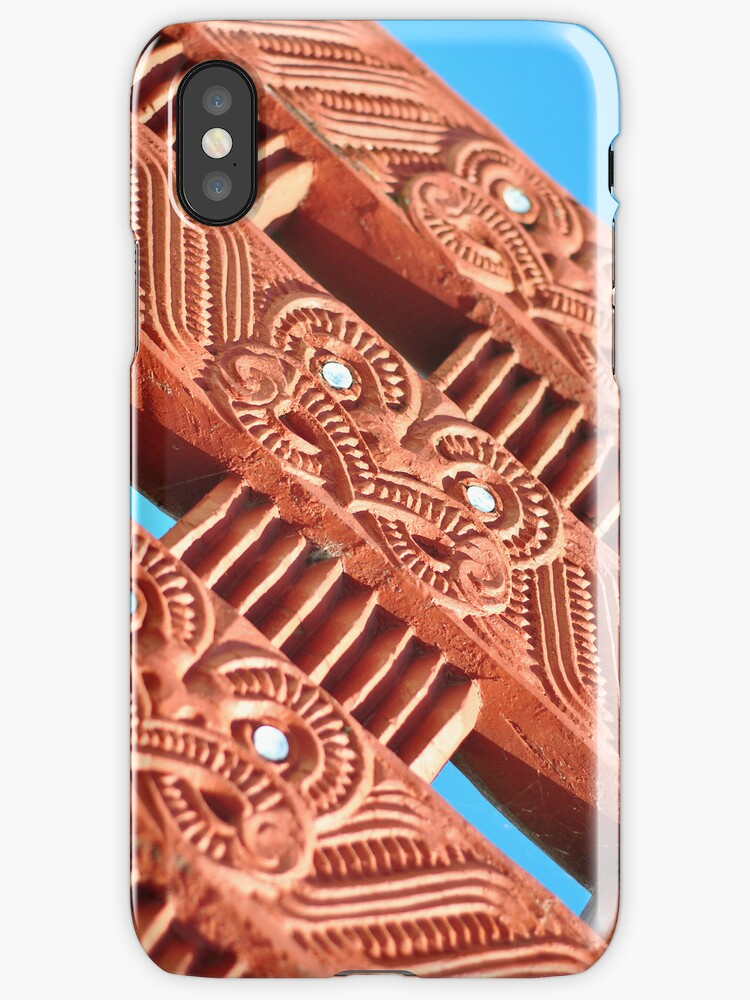Maori Carvings - iphone by mattslinn