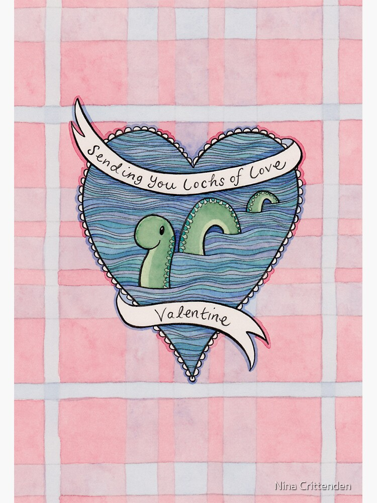 Nessie Valentine by ninacrittenden