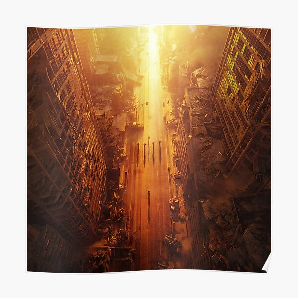 Wasteland Wallpaper Poster